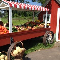 Eddy Family farm stand in Newington, CT - The BEST farm stand!!