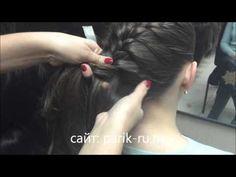 как заплести накладную косу