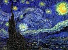 Starry Night is one of the most famous paintings by Dutch artist Vincent van Gogh and has become one of the most well known images in modern culture.
