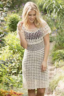 Natural Beauty Dress... Free crochet pattern!