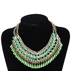 Xu®+Women's+National+Exaggerated+Personality+Elegant+Necklace+–+USD+$+11.69