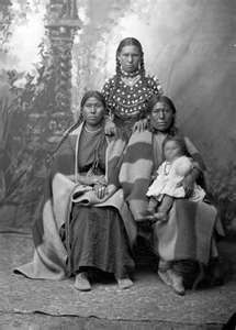 Gros Ventre Indian Women 1880: