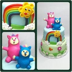 Cake Billy y Bam Bam #PrityCakes #pritycakes #cake #dulce #torta #fondant #fondantart #babytv #billyybambam #billyybambamcake #piezasmodeladas #fondantmodelado #babytvbillybambam #panama #pastrypanama #panama507 #pty507