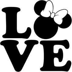 Minnie And Mickey Mouse Silhouette Disney Stencils, Licht Box, Stencil Art, Disney Crafts, Cricut Creations, Love Wallpaper, Cricut Vinyl, Silhouette Design, Mouse Silhouette