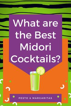 Midori is a Japanese melon liqueur with a funky green colour. It is tasty on its own but it really works well in cocktails. Here are some of the best Midori cocktail recipes to try making at home Midori Cocktails, Vodka Cocktails, Drinks With Midori, Bartender Recipes, Malibu Coconut, Lime Soda, Alcohol, Cocktail Making, Cocktails