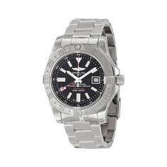 Breitling Men's BTA3239011-BC35SS Avenger II GMT Analog Display Swiss Automatic Silver Watch ** Visit the image link more details.
