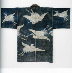 Hanten Happi Coats Japanese EDO Sashiko Tsutsugaki   eBay
