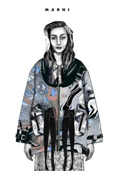 2015 Westminster Fashion illustration – Diana Misnei