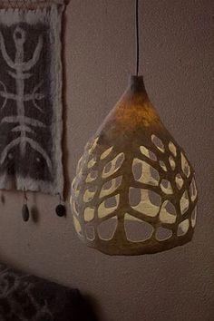 Tallar una calabaza para lámpara