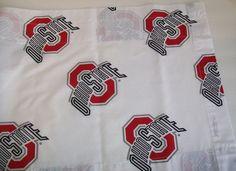 "SOLD!!  Ohio State Buckeyes University Window VALANCE 82"" by 15"" BTS College NCAA  #SportCollege"