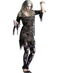 Living Dead Zombie Womens Costume