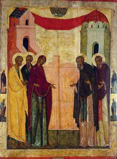 item image #70 Byzantine Art, Byzantine Icons, Russian Icons, Russian Art, Andrei Rublev, Russian Painting, Russian Orthodox, Religious Icons, Art Icon