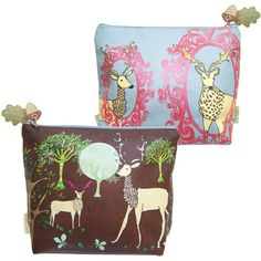 Wild Woods Wash Bag by Disaster Designs - THE DISTINGUISHED