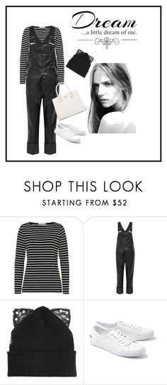 """""""Overalls"""" by heyitsmejpaz ❤ liked on Polyvore featuring Betty Barclay, Givenchy, Silver Spoon Attire, Lacoste, Prada and Love Quotes Scarves"""