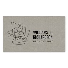 Abstract Geometric Architectural Logo and Business Card Template for Architects, Engineers, Builders, Interior Designers and more.