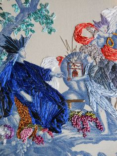 Richard Saja embroidery.  Amazing embroidery.