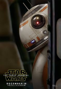 Star Wars: The Force Awakens, BB-8.  I LOVE this little one!  Good old Disney