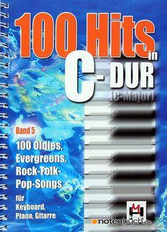 """Der 5te Band von """"100 Hits in C-Dur"""" ab jetzt bei uns im Online-shop erhältlich! 100 Klassiker-Hits, mit dabei """"Unchain my Heart"""" von Joe Cocker oder """"Super Trouper"""" von ABBA! Ein Muss für jeden Musiker!"""