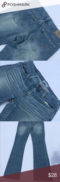"Really nice American eagle Favorite flare ! In greats shape 32"" long (00000) American Eagle Outfitters Jeans"