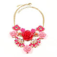 Fun & Girly!! | Amrita Pink Rose Necklace | Amrita Singh Jewelry