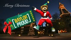 M-E-R-R-Y C-H-R-I-S-T-M-A-S! // #Baylor Proud Christmas video 2012 (click to watch)