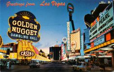 Pictures of Las Vegas in 1950s-60s | vintage everyday