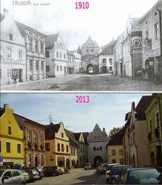 Přehled srovnávacích fotek: TŘEBOŇ (Jihočeský kraj) Czech Republic, Places, Bohemia, Lugares