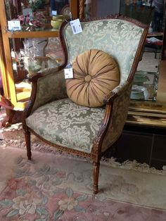 Chair Wood Frame Location: Hamilton Categories: Occasional Chairs $192.40 + tax Item #: 12334