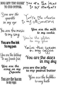 Image result for valentine sentiments for cards