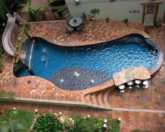 Gilrie Pools, Inc.  One of our designs.