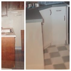 Kitchen Of Old Home From 1930s Decor Before Amp After All Inquiries
