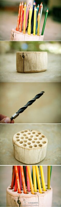 This would be good for paint brushes too!