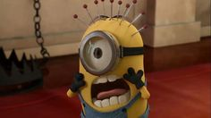 Minion... Hmmm could also go on sewing page. L