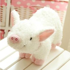 Super Kawaii Pig Plush Toy Lovely Cute Anime stuffed Toys High Quality Home Decors Baby Toy Kid Toy Gift