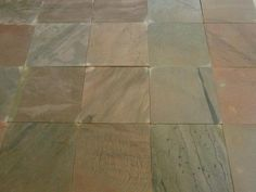 Installing Slate Floor Tiles: Dry Lay Out The Tiles
