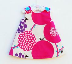 Girl Dress  Echino  Frock Dress  Special by KKchildrendesigns, $44.00