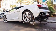 Nice Lamborghini: Lamborghini Gallardo Being Badly Towed  Ziyaret Edilecek Yerler Check more at http://24car.top/2017/2017/05/01/lamborghini-lamborghini-gallardo-being-badly-towed-ziyaret-edilecek-yerler/