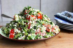 powered by plantz: Cauliflower Tabbouleh