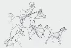Hunting Party from Mary Poppins by Milt Kahl