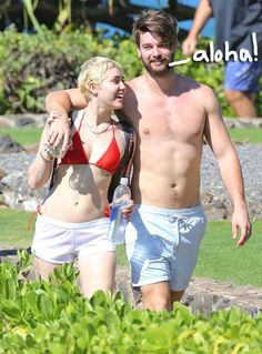 Lovebirds Miley Cyrus & Patrick Schwarzenegger Take A Romantic Trip To Hawaii! So Much PDA, So Little Time!