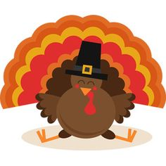 Miss Kate Cuttables Thanksgiving Turkey Thanksgiving Turkey Pictures, Thanksgiving Drawings, Thanksgiving Diy, Simple Turkey Drawing, Scrapbook Images, Autumn Illustration, Cute Clipart, Bird Drawings, Vinyl Crafts