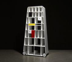 Sistemi scaffale | Mobili contenitori | Moving Mondiran library | ... Check it out on Architonic
