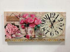 . #vacchetti #vacchettispa #orologio #orologiofiori #fiori #articoliperlacasa #inspire_me_home #clock #flowerclock #shabby #shabbycollection #shabbychic #complementidarredo #spring #color #home #casa #homesweethome #casadolcecasa #pink #rosa #homeidea #homestyle #orologiodaparete #clockhouse #decoration #decorationideas