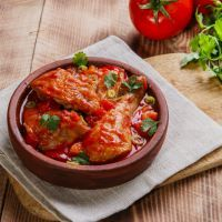 Create a tasty Italian chicken dish in the crockpot and serve with tomato or marinara sauce. Freeze the chicken for up to a month before serving.