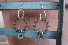 Hardware Earrings:  Hardware Washer Jewelry