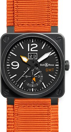 Bell & Ross Aviation BR0351-GMT-CA | Best Watches For Men