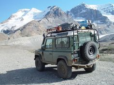 Landrover - also known to alumni as 'Bravo', these are the main resupply vehicles for contemporary expeditions