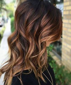 Pretty Warm Brunette Balayage