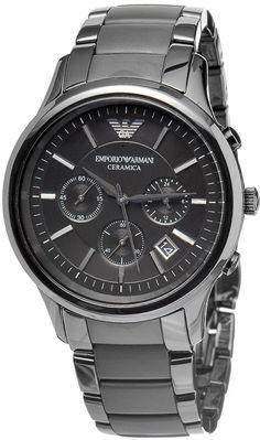 c7380436822 Emporio Armani Ceramica Chronograph Mens Watch AR1452 Review Buy Now Emporio  Armani