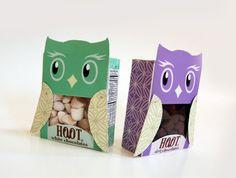 Owl Chocolate Packaging design #Owl #design #packaging #chocolate #hoot